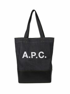 A.p.c. Navy Axelle Shopper