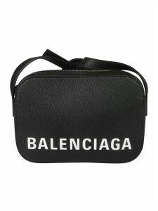 Balenciaga Logo Print Shoulder Bag