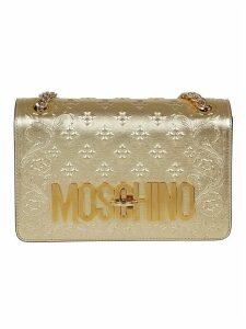 Golden Leather Bag
