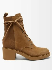 Alexandre Vauthier - Oversized Double Breasted Patent Leather Coat - Womens - Ivory