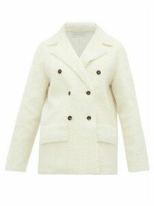 Inès & Maréchal - Froufrou Lambskin Shearling Coat - Womens - White