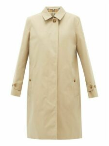 Burberry - Pimlico Check Lined Cotton Raincoat - Womens - Beige