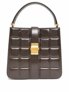 Bottega Veneta - Marie Padded Leather Tote Bag - Womens - Brown