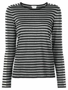 Akris Punto striped jumper - Silver