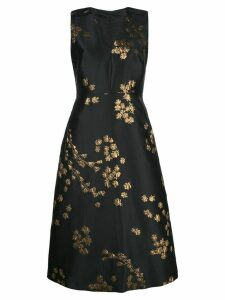 Escada floral dress - Black