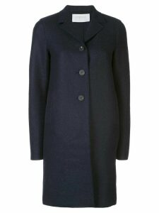 Harris Wharf London single-breasted midi coat - Blue