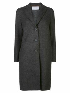 Harris Wharf London single-breasted mid-length coat - Brown