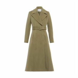 Ivy & Oak Coat With Statement Collar And Belt