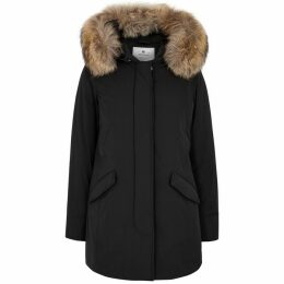 Woolrich Luxury Arctic Fur-trimmed Shell Parka