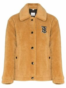 Burberry Rosewell teddy coat - Brown