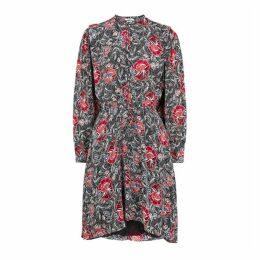 Isabel Marant Étoile Yandra Floral-print Silk Dress