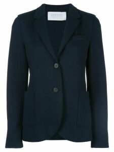 Harris Wharf London single-breasted fitted blazer - Blue