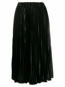 Michael Kors high-waisted pleated skirt - Black
