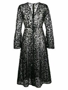 Rotate sequin-embellished lace dress - Black