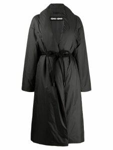 Ienki Ienki oversized padded robe coat - Black