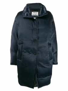 Acne Studios cocoon down coat - Blue