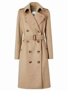 Burberry cashmere trench coat - NEUTRALS