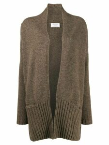 Snobby Sheep open front cardigan - Brown