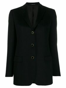 Tagliatore single breasted blazer - Black