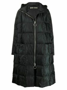Ienki Ienki Pyramide oversized padded coat - Black