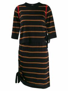 PS Paul Smith striped knit dress - Blue