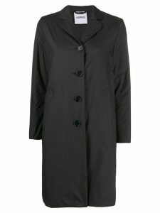 Aspesi single-breasted raincoat - Black