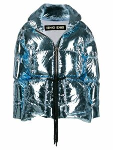 Ienki Ienki Mishko oversized padded coat - Blue