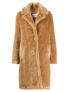 STAND STUDIO faux fur coat - Brown