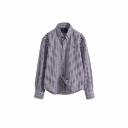 Hackett Multi-coloured Check Cotton Shirt