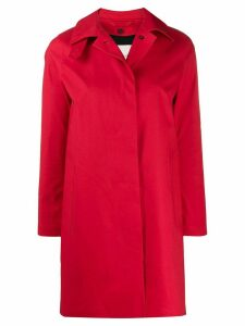Mackintosh DUNOON Red Bonded Cotton Short Coat LR-1005D