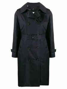 Mackintosh Muirkirk LM-1011FD trench coat - Blue