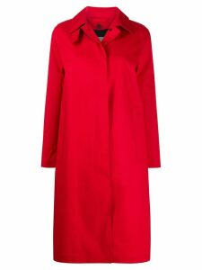 Mackintosh DUNKELD Red Bonded Cotton 3/4 Coat LR-1001D