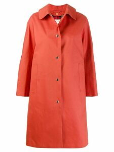 Mackintosh FAIRLIE Jaffa Bonded Cotton Coat LR-079D - Orange