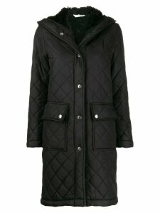 Mackintosh GRANGE Black Quilted Hooded Coat LQ-1001