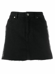 Gaelle Bonheur A-line mini skirt - Black
