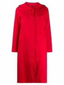 Mackintosh CHRYSTON Red Rainproof Cotton Hooded Coat LM-1019FD