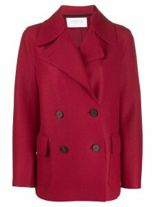 Harris Wharf London double breasted coat - Red