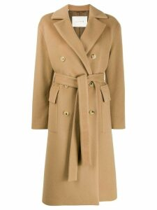 Mackintosh LAURENCEKIRK Beige Wool & Cashmere Double Breasted Coat