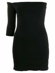 Ports 1961 off-shoulder knitted dress - Black