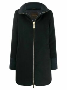 Moorer mid-length zip-up coat - Blue