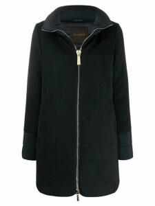 Moorer mid-length zip-up coat - Blue