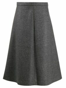 Miu Miu high waisted A-line skirt - Grey