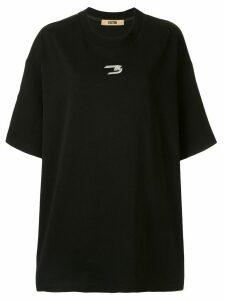 System logo oversized T-shirt - Black