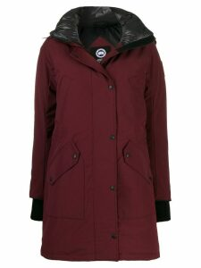 Canada Goose Ellesmere down parka coat - Red