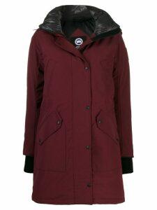 Canada Goose Ellesmere down parka coat - Red