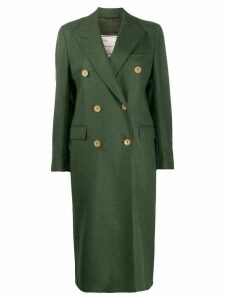 Giuliva Heritage Collection Cindy double-breasted coat - Green
