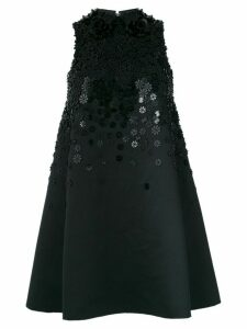 Viktor & Rolf Soir Encrusted Flower Couture dress - Black