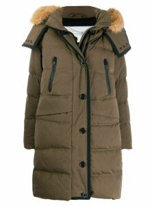 Peuterey padded parka coat - Green