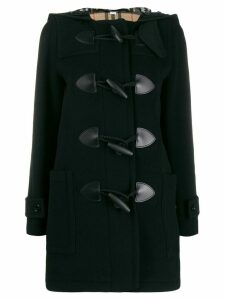 Burberry hooded duffle coat - Black