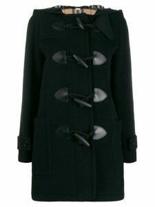 Burberry hooded duffle coat - Black